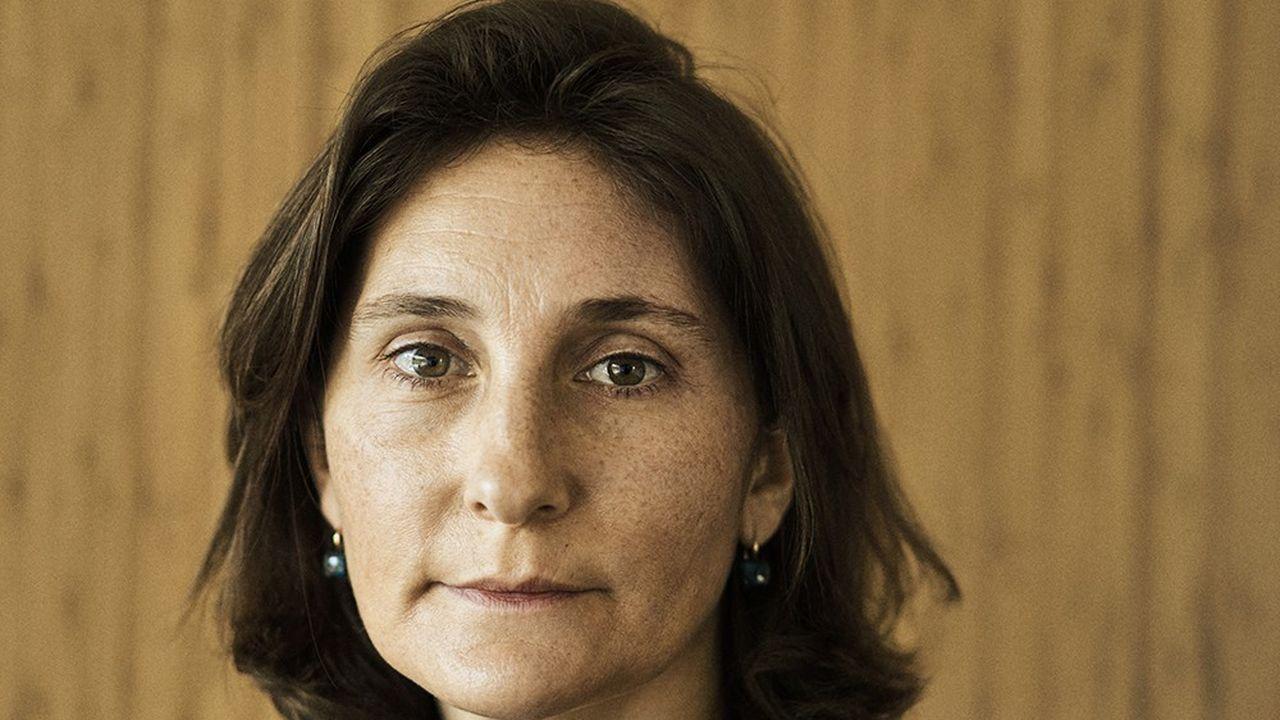 Amélie Oudéa-Castera, directrice générale de la Fédération française de tennis, le 10 mai 2021.