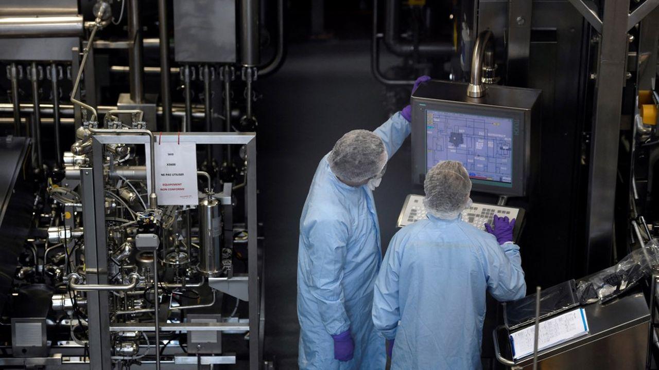 Au-delà des Gafa, l'offensive des grands laboratoires pour mettre la main sur les entreprises innovantes inquiète les autorités de la concurrence.