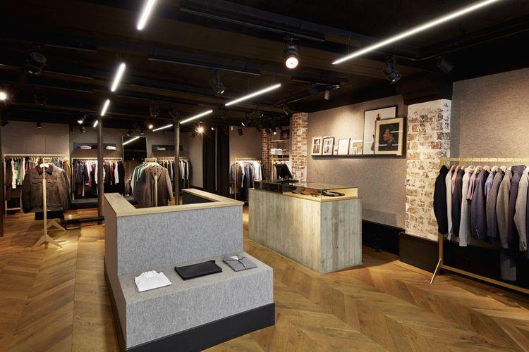Boutique Officine Générale dans le Haut-Marais, à Paris.