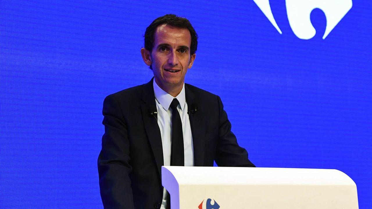 Le mandat du PDG de Carrefour Alexandre Bompard a été renouvelé pour trois ans par l'assemblée générale.