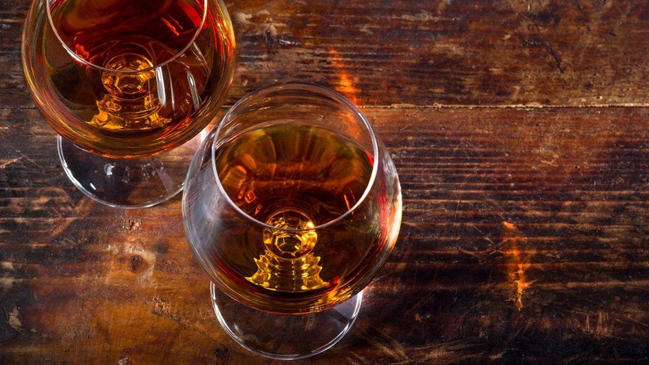 Les ventes ont retrouvé beaucoup de vigueur depuis quelques mois aux Etats-Unis et en Chine, les deux plus gros marchés du cognac dans le monde.