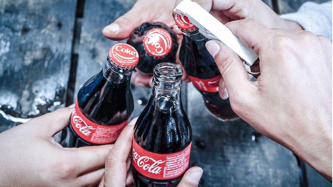 Pour la consommation à domicile, Coca-Cola a vu le nombre de fois où la marque est achetée progresser de 4% en 2020, à 6,5milliards.