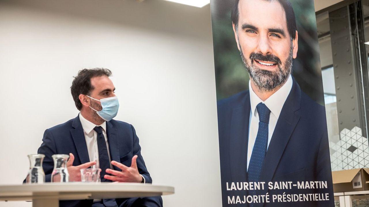 «Nous ne ferons pas de cette élection un marchepied vers la présidentielle», promet Laurent Saint-Martin (LREM).