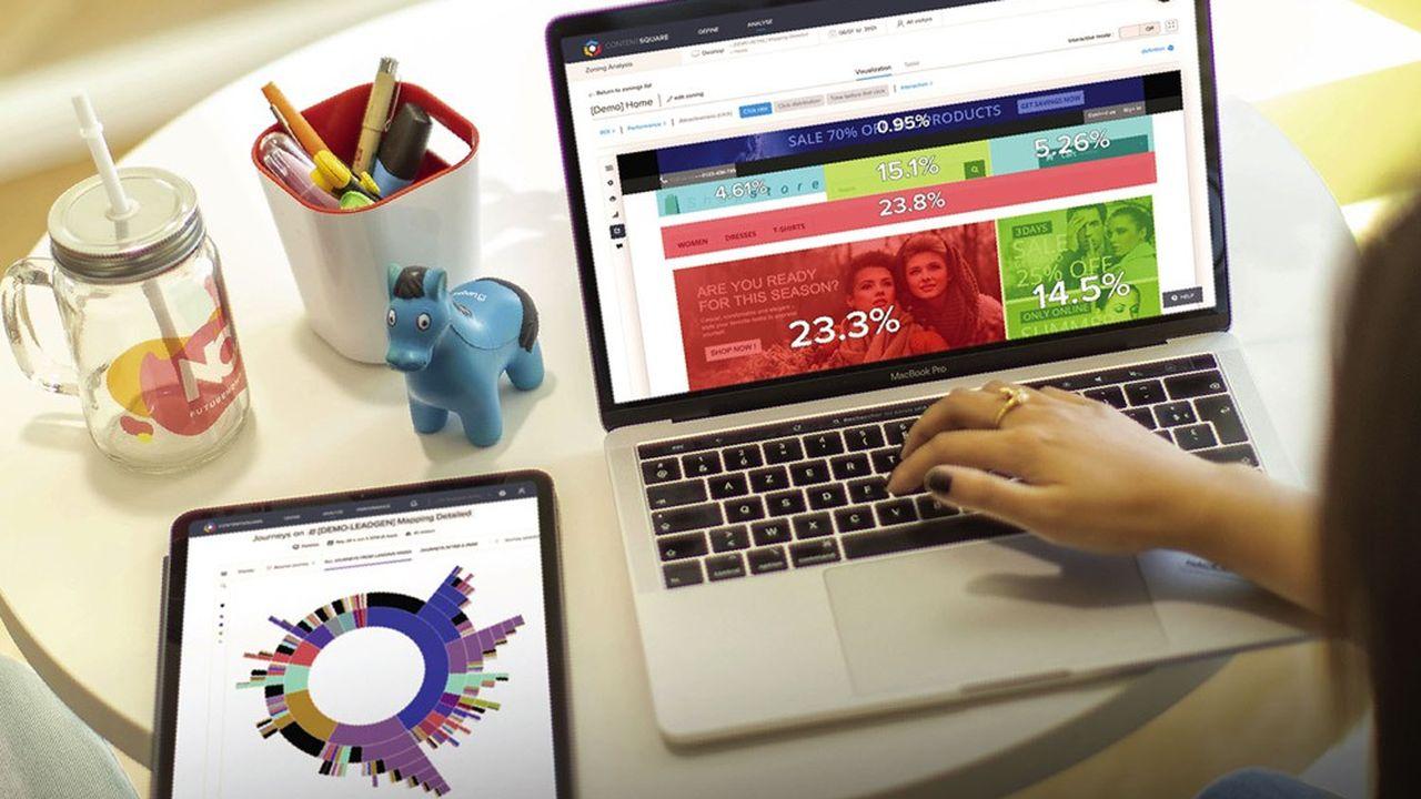 Fondé en2012 à Paris, Contentsquare a désormais des ambitions mondiales.