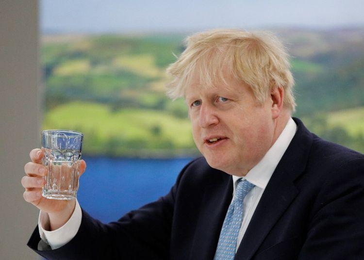 Boris Johnson le 7mai 2021.