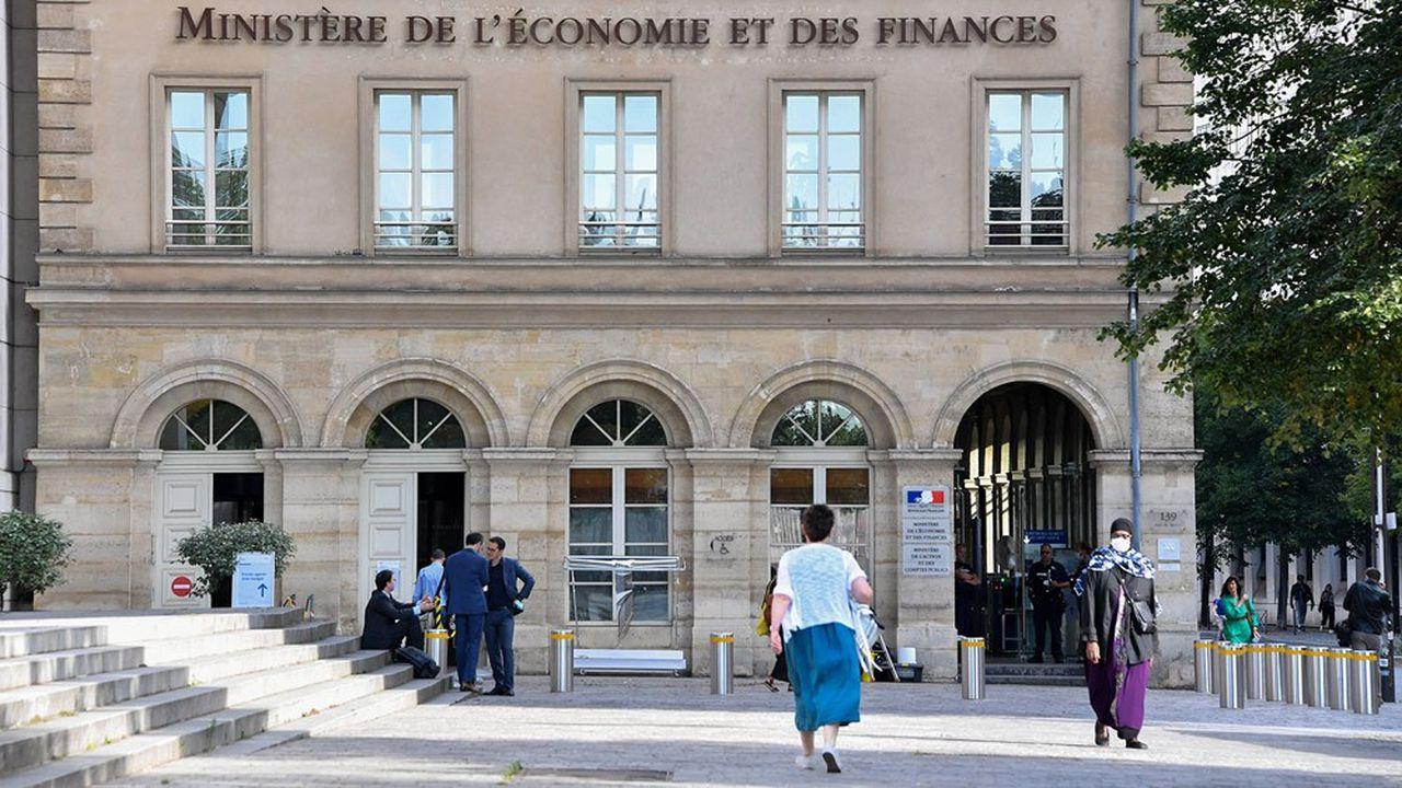 Le ministère de l'Economie et des Finances fait partie des administrations ayant la plus forte proportion de télétravailleurs à 100%.