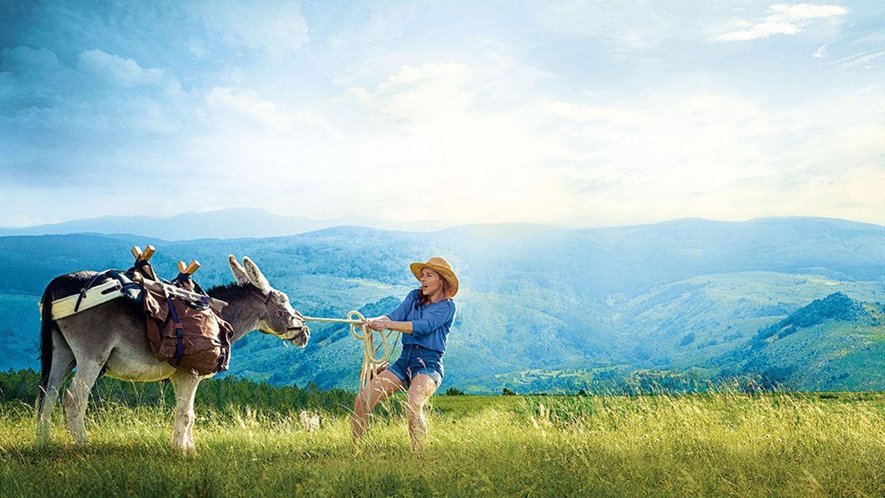 «Antoinette dans les Cévennes» de Caroline Vignal : Laure Calamy et son âne.