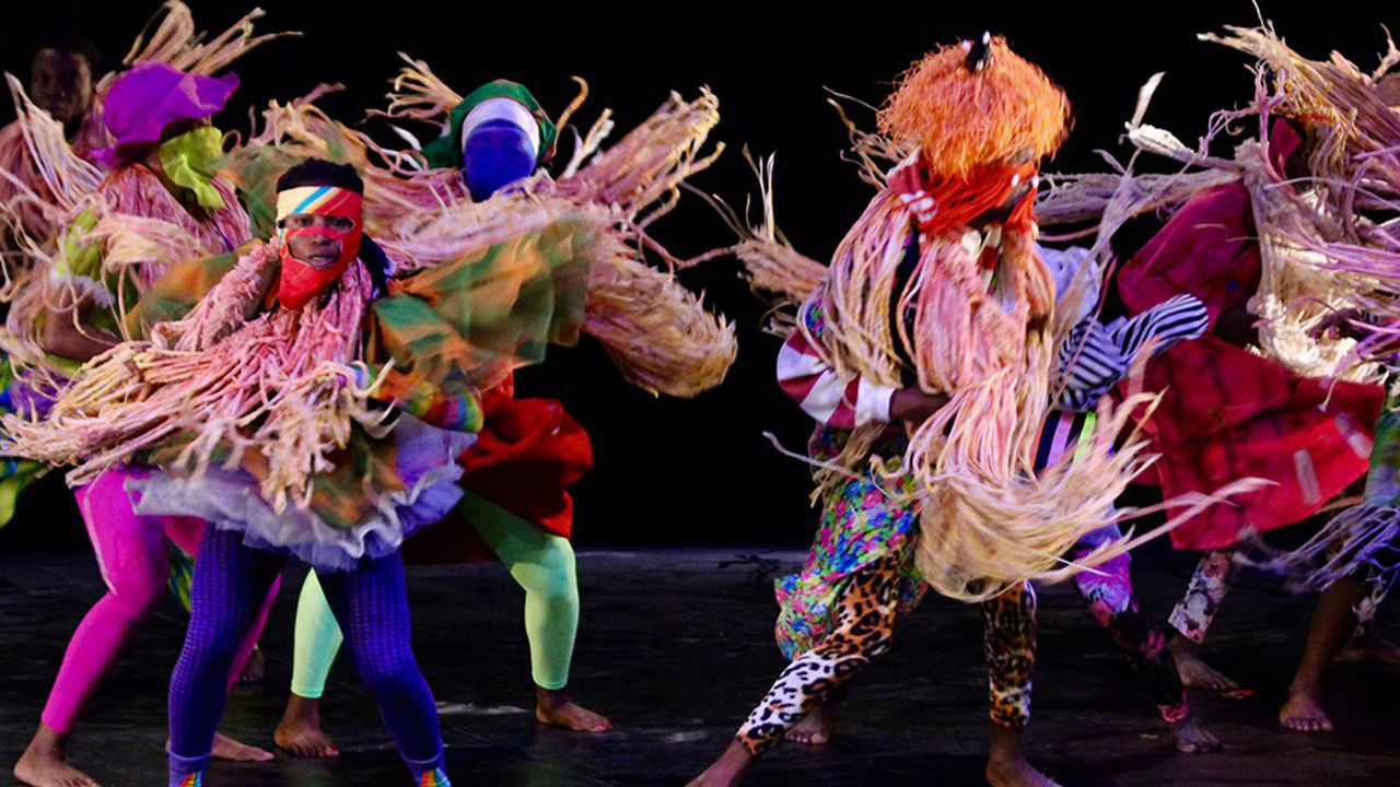 The QDance, la compagnie du chorégraphe et danseur nigérian Qudus Onikeku.