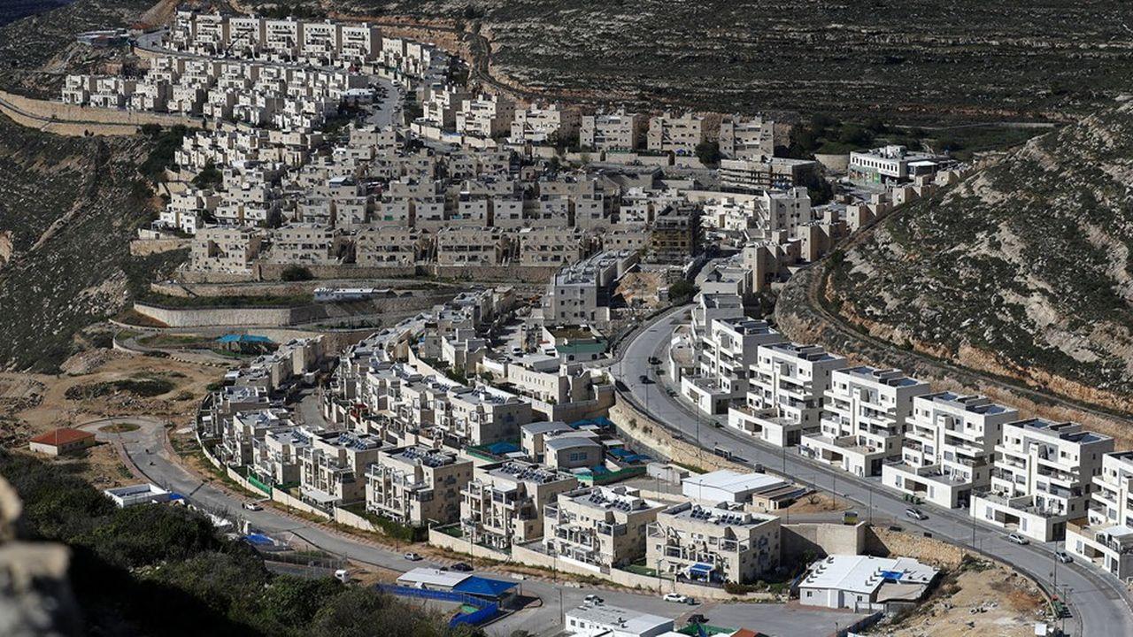 Israël a poursuivi ces dernières années ses activités de colonisation dans les territoires palestiniens. Ici la colonie de Givat Zeev, près de la ville palestinienne de Ramallah en Cisjordanie