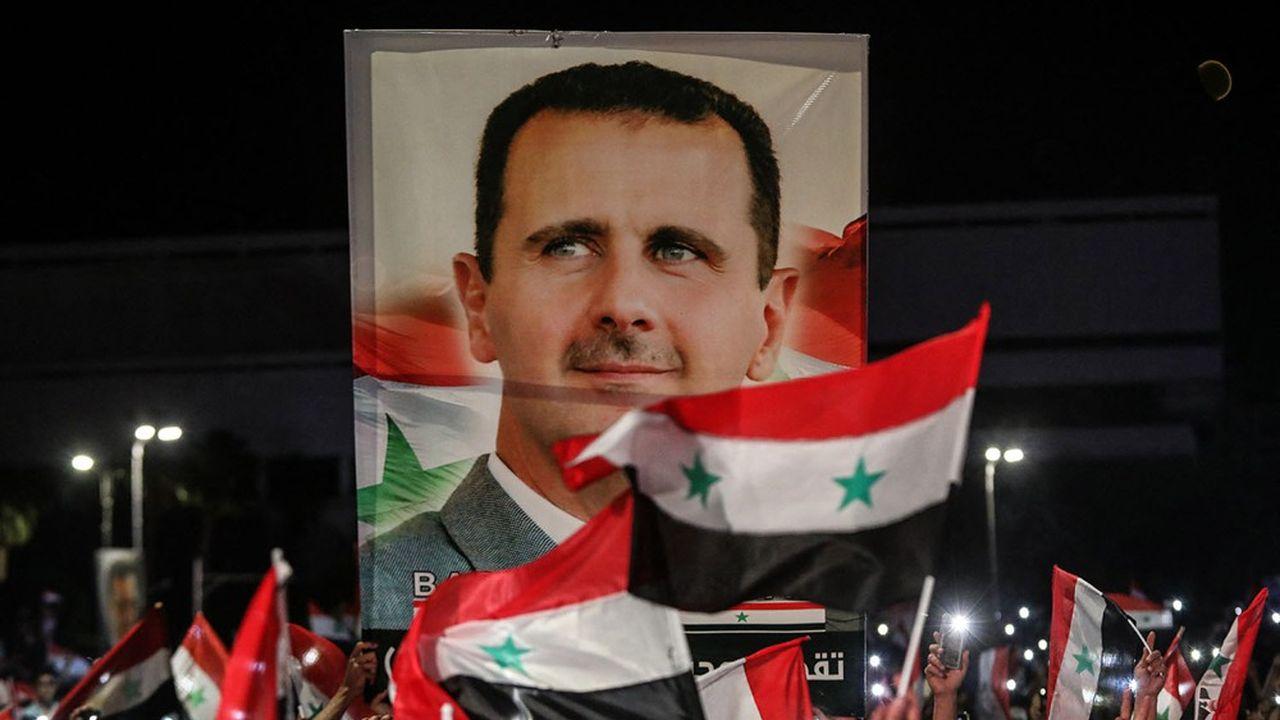 La Syrie, tout comme son président, est la cible de sanctions internationales.