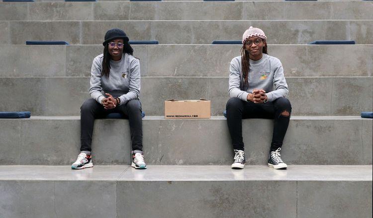 Katia et Noëlla, les fondatrices de la start-up Fresh Afrika By KayNo.