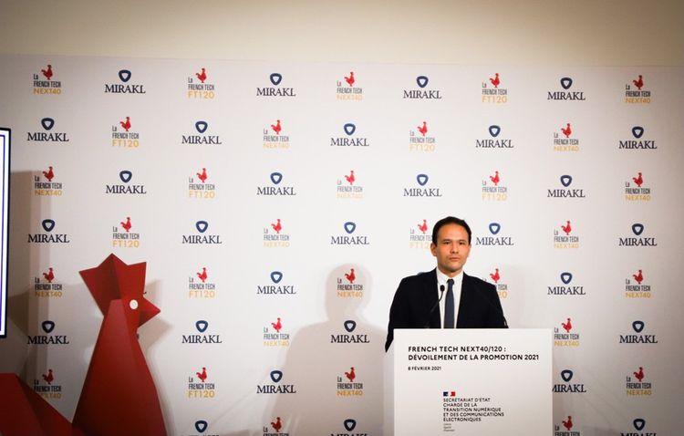 En février2021, le gouvernement a annoncé la nouvelle promotion du Next40 et du French Tech 120, ici dans les locaux de la licorne Mirakl.