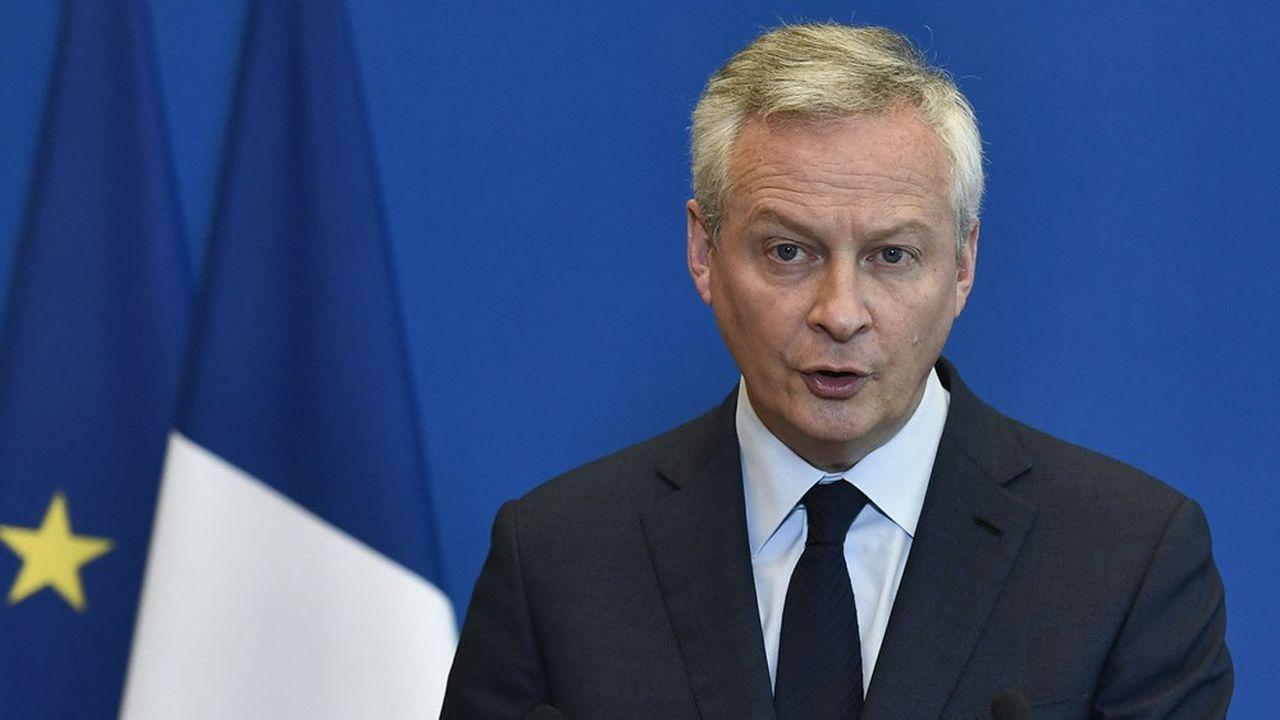 Bruno Le Maire, le ministre de l'Economie, maintient sa prévision de croissance de 5% cette année et précise l'ampleur du déficit public attendu.