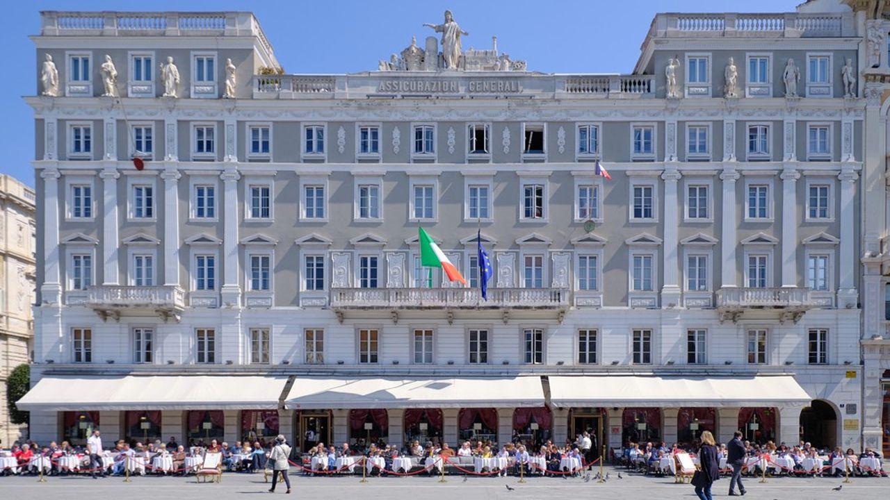 Basé à Trieste, Generali a affiché un résultat net de 802millions d'euros au premier trimestre 2021.