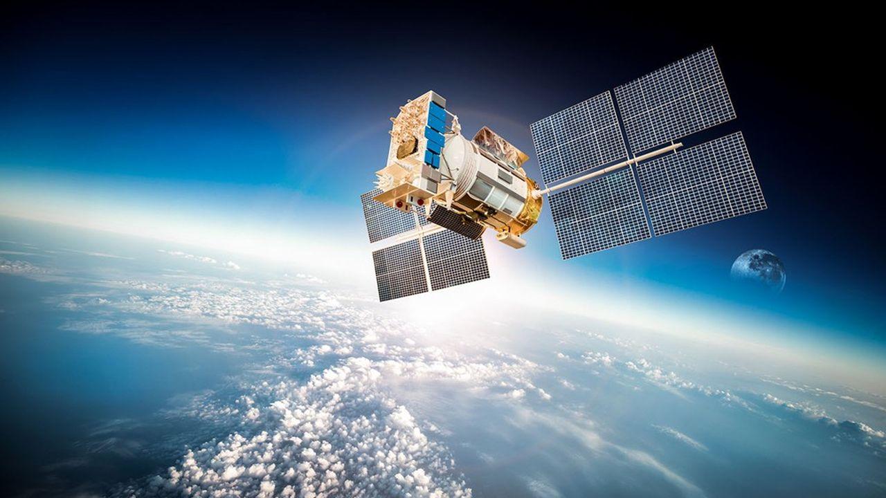 La construction de satellites reste un point fort européen, avec une balance commerciale positive.