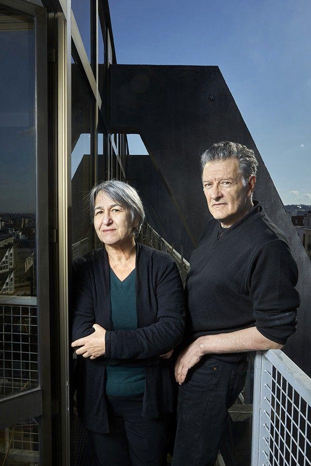 Anne Lacaton et Jean-Philippe Vassal, Prix Pritzker 2021, dans leur agence à Montreuil.