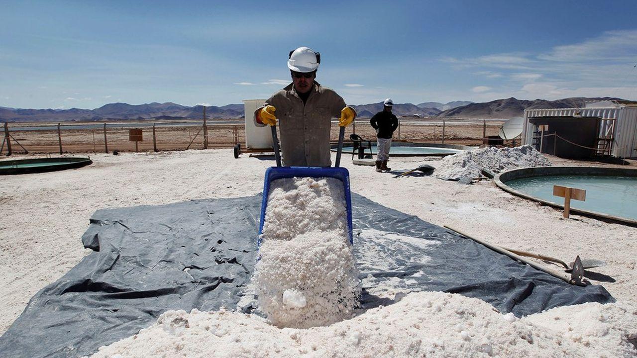 Le «triangle du lithium», vaste zone entre le Chili, l'Argentine et la Bolivie, abrite plus de la moitié des ressources mondiales.