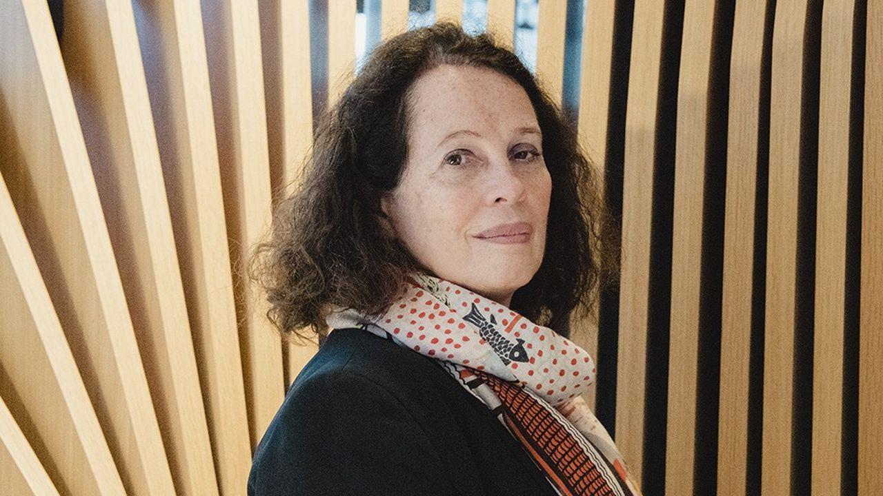 Sylvie Bermann, diplomate, photographiée à paris le 23mars 2021.