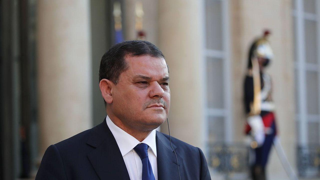 Le Premier ministre libyen Abdelhamid Dbeibah a été reçu à l'Elysée par Emmanuel Macron mardi soir.
