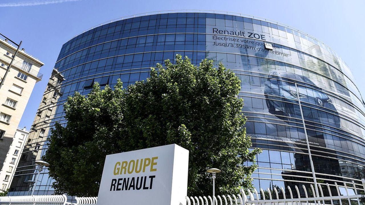 Pendant la crise sanitaire des plateaux entiers du siège de Renault, à Boulogne, ont été fermés.