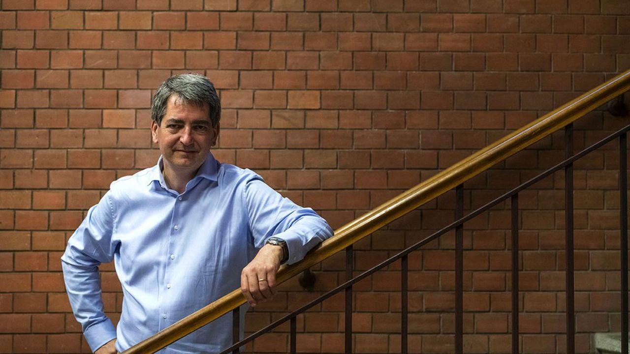 Jean Rottner, le président LR sortant de la région Grand Est, est candidat à sa réélection.