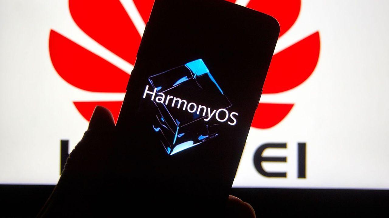 HarmonyOS, le nouveau système d'exploitation de Huawei, équipera désormais les smartphones du groupe qui tournaient jusqu'à présent avec Android.