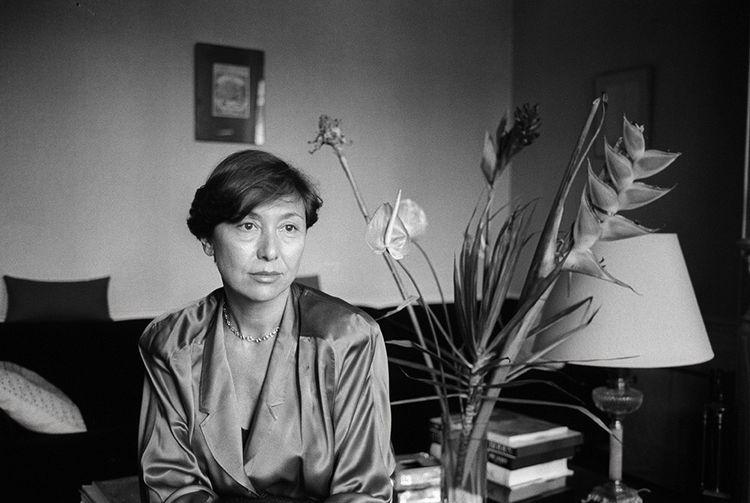 Julia Kristeva (ici en1987), psychanalyste, écrivaine et sémiologue, a épousé Philippe Sollers en 1967.