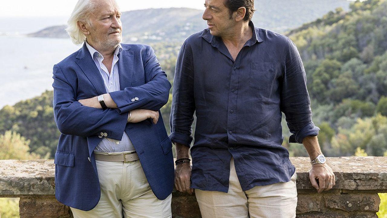 Niels Arestrup et Patrick Bruel dans «Villa Caprice», de Bernard Stora.