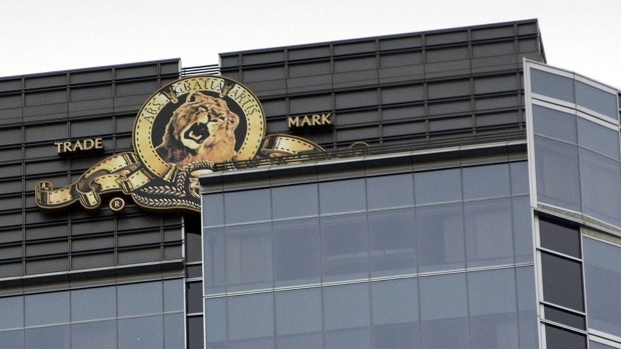 Le logo de la Metro-Goldwyn-Mayer.