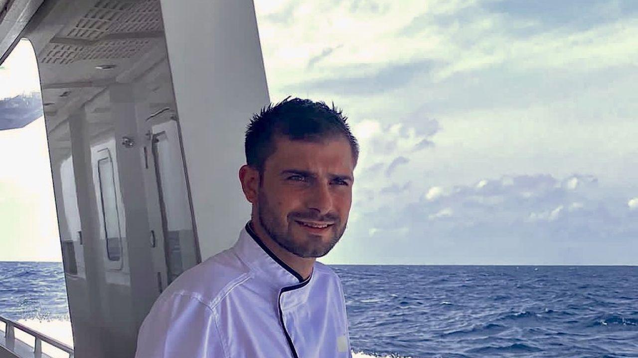 Antoine Danthu travaille à l'année sur des yachts de millionnaires.