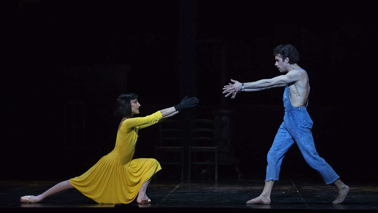 Dans «Le jeune homme et la mort», Mathias Heymann et Dorothée Gilbert nous offrent quelques minutes d'extase.