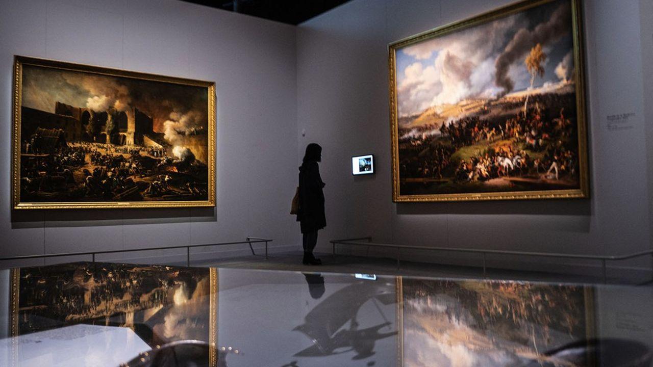 L'expo «Napoléon» de La Grande Halle s'étend sur 1.800m2. Elle a mobilisé sept commissaires.