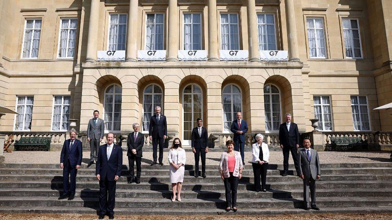 Les ministres des Finances du G7 se sont réunis à Londres.
