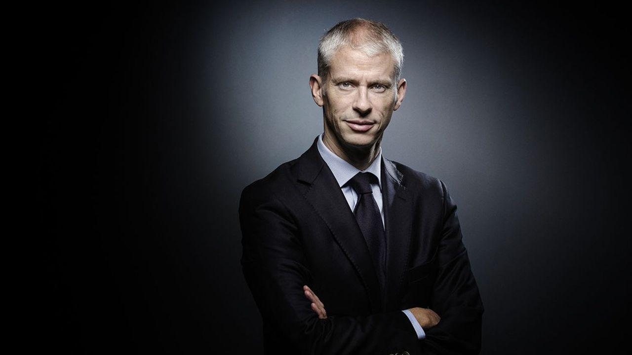 Franck Riester, ministre délégué chargé du Commerce extérieur et de l'attractivité.