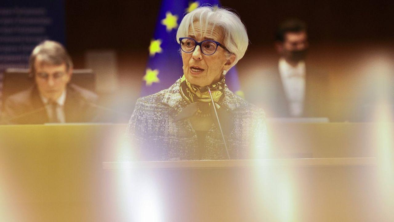 Christine Lagarde, présidente de la Banque centrale européenne, devrait répéter jeudi que la forte hausse de l'inflation en zone euro est due à des facteurs temporaires.