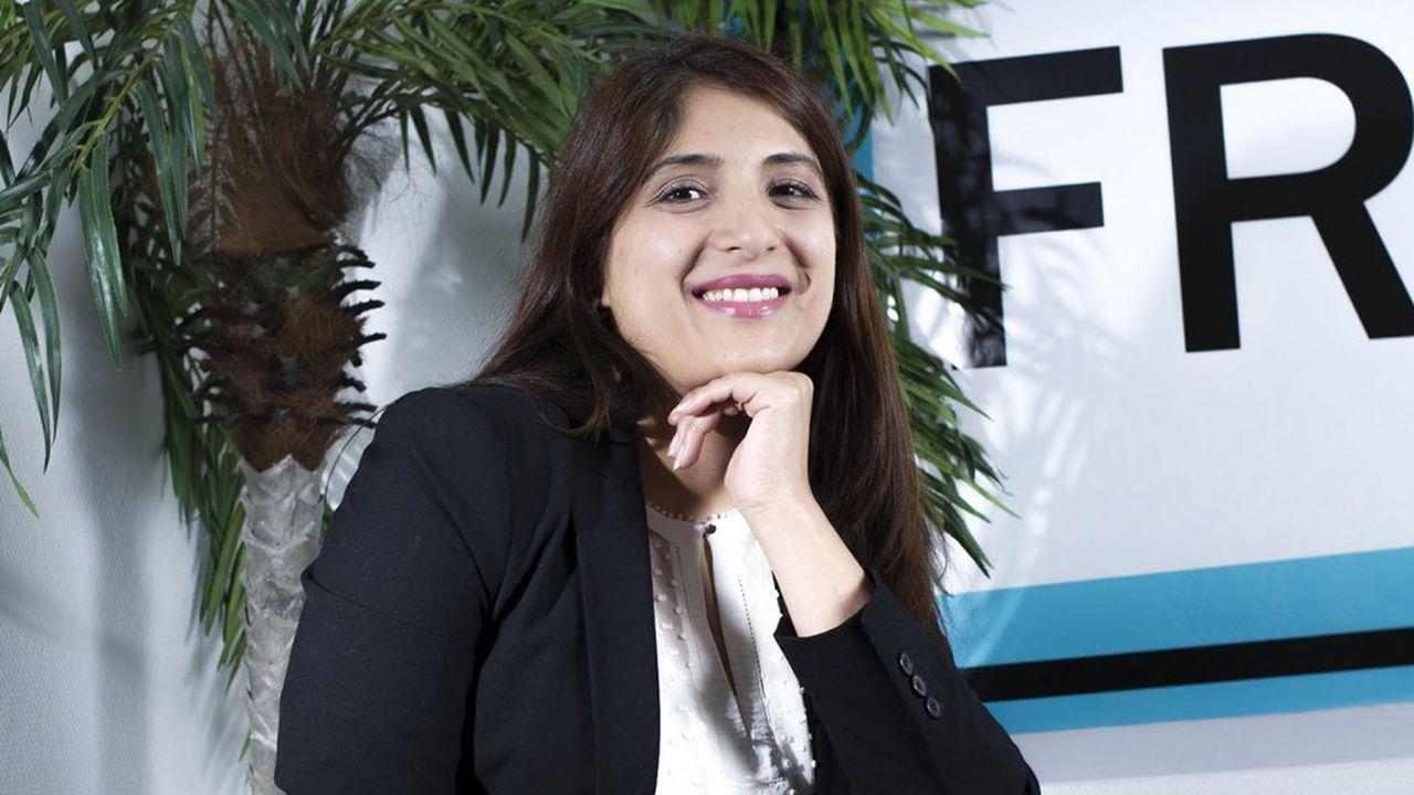 Areeba Rehman, fondatrice de la start up FretBay.com
