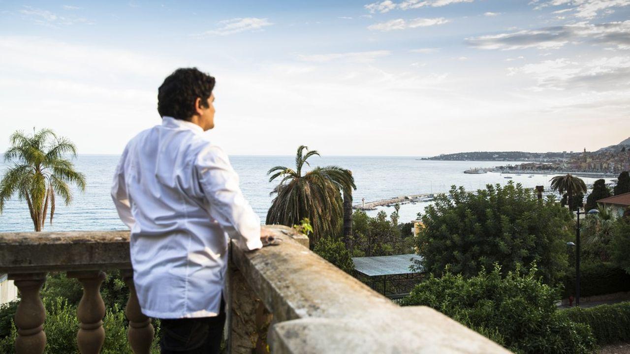 Mauro Colagreco, chef du restaurant Mirazur à Menton