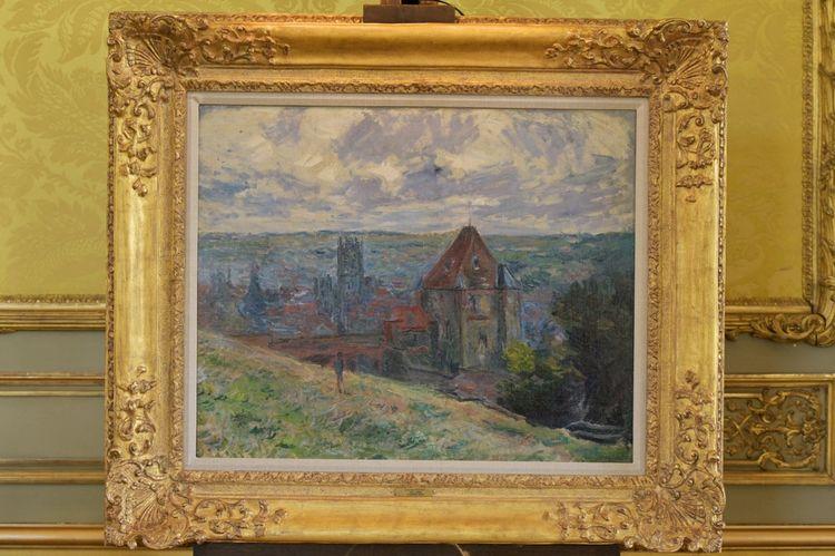 « Dieppe », de Claude Monet.