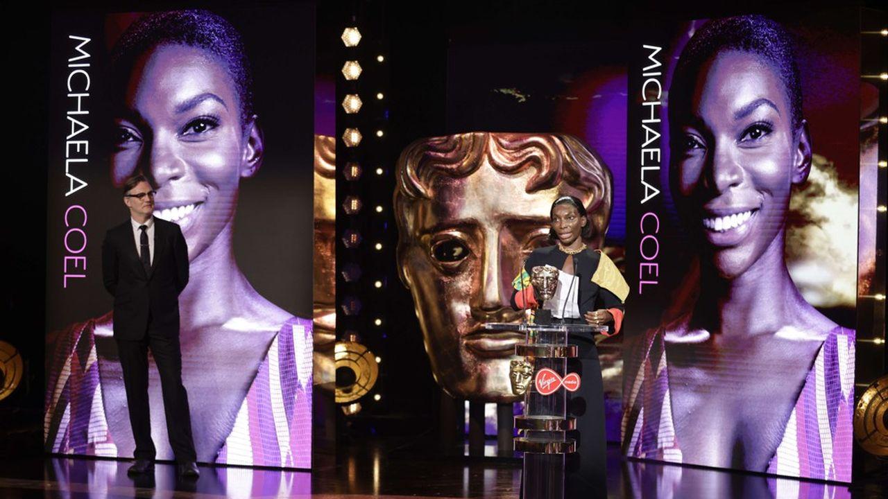 Michaela Coel récompensé pour la série « I May Destroy You » lors des BAFTA.
