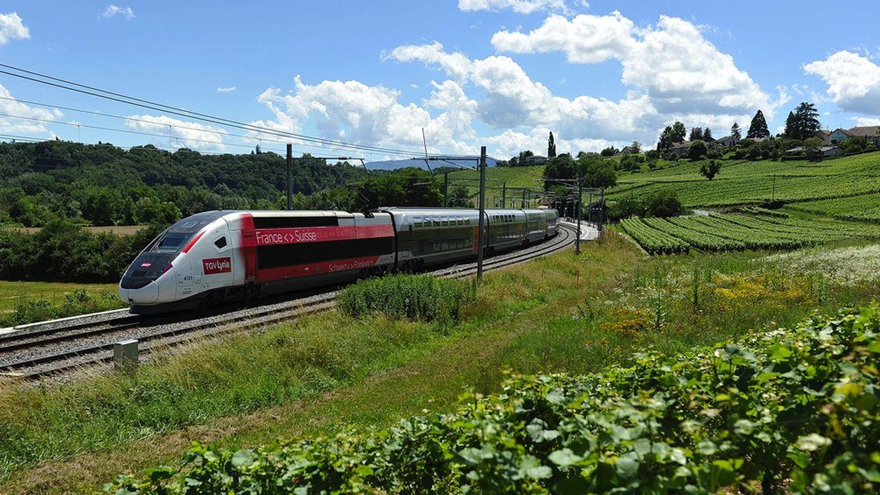 Le TGV Lyria est remonté récemment à 9 fréquences par jour entre la France et la Suisse, puis passera à 13 début juillet.
