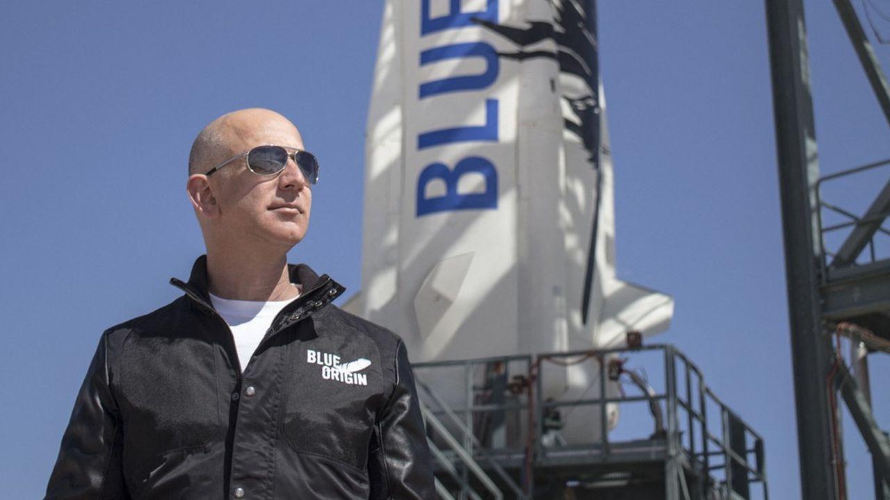 Jeff Bezos fera partie du vol inaugural de sa société Blue Origin, le 20juillet prochain.