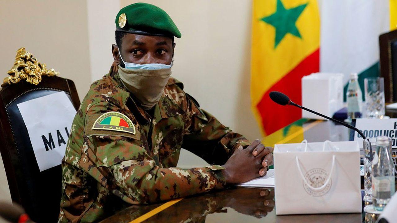 Le colonel Assimi Goïta est le chef de la junte qui a renversé le président IBK en août dernier.