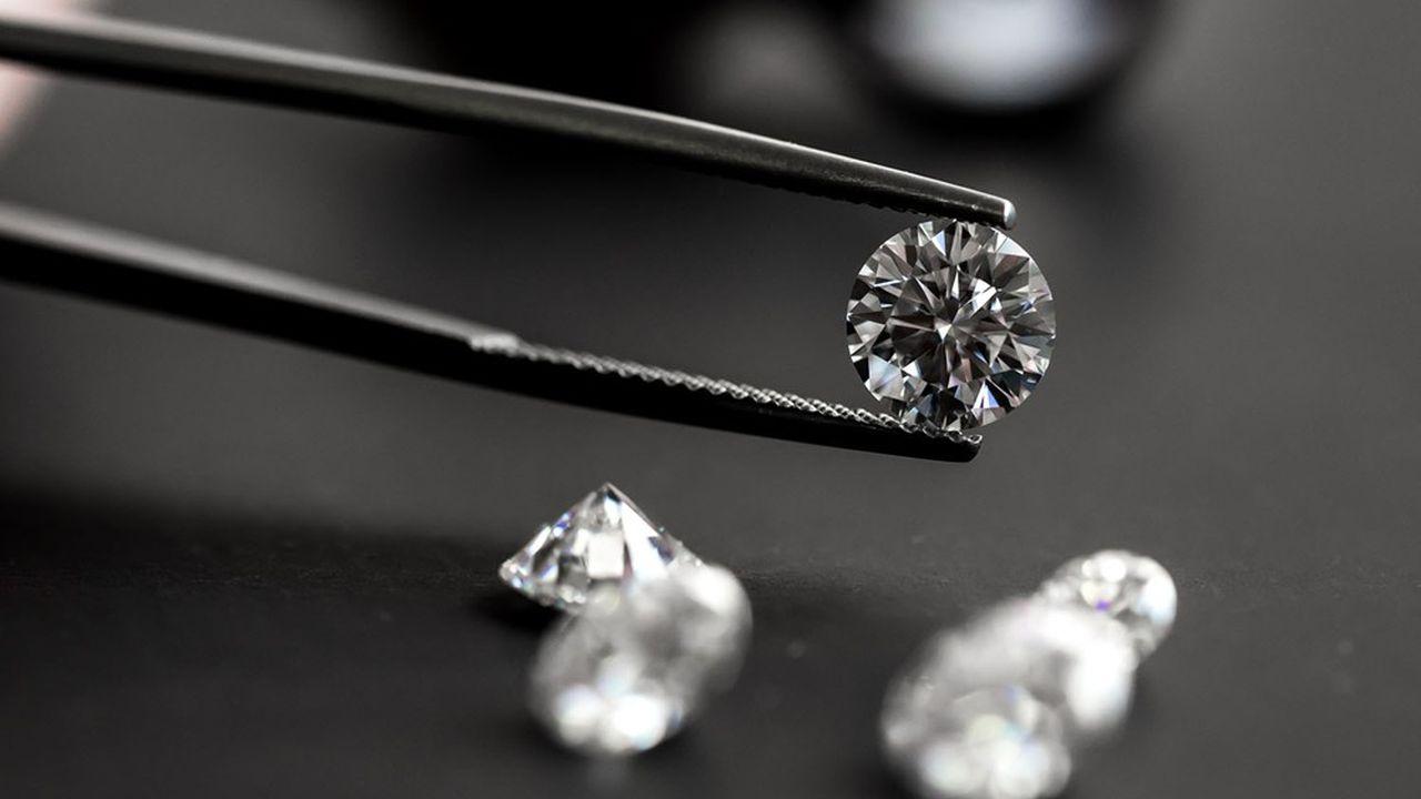 De Beers a augmenté le prix de certains diamants bruts d'une valeur supérieure à 2 carats.