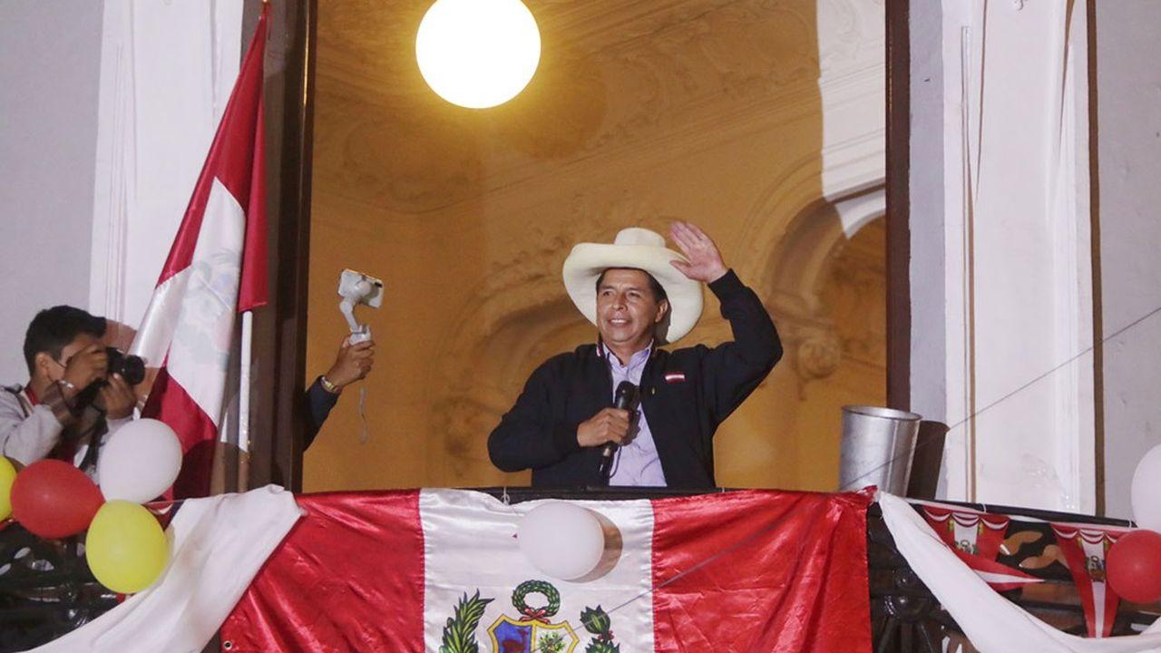 Pedro Castillo est crédité de 50,28% des voix après dépouillement de plus de 96% des suffrages.