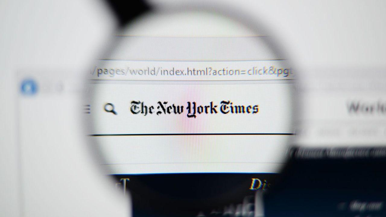 Comme d'autres sites, celui du «New York Times» est actuellement inaccessible.