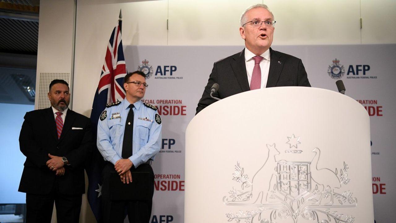 L'opération a «porté un coup rude au crime organisé […] à travers le monde», s'est félicité lePremier ministre australien Scott Morrison.