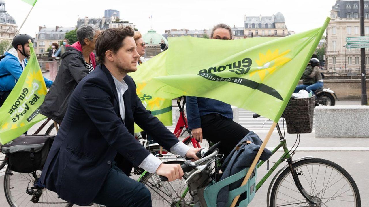 Julien Bayou, secrétaire national d'Europe Ecologie-Les Verts (EELV) et tête de liste en Ile-de-France pour les régionales 2021.
