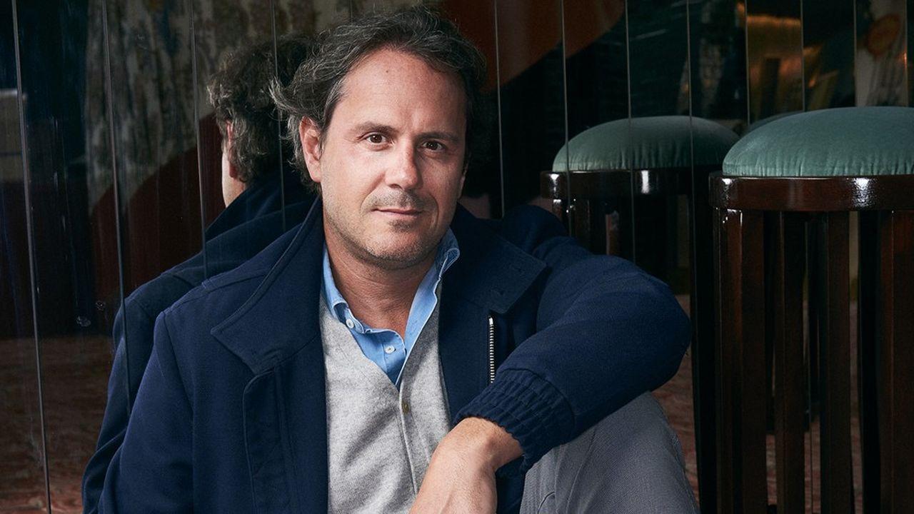 Laurent de Gourcuff, patron du groupe Paris Society, le 17 mai 2021.
