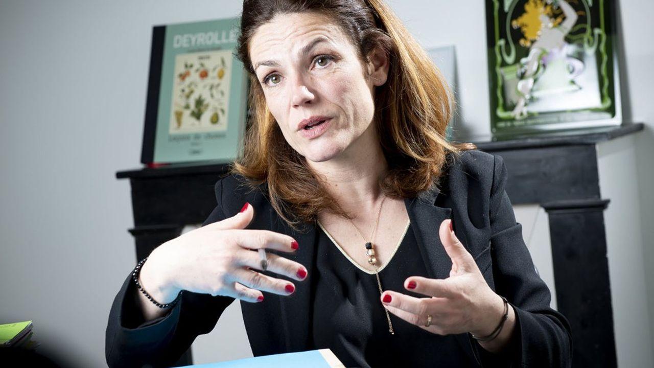 Chantal Jouanno, présidente de la Commission nationale du débat public (CNDP).