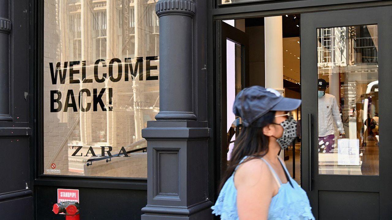 Environ 98% des magasins Zara ont désormais rouvert.